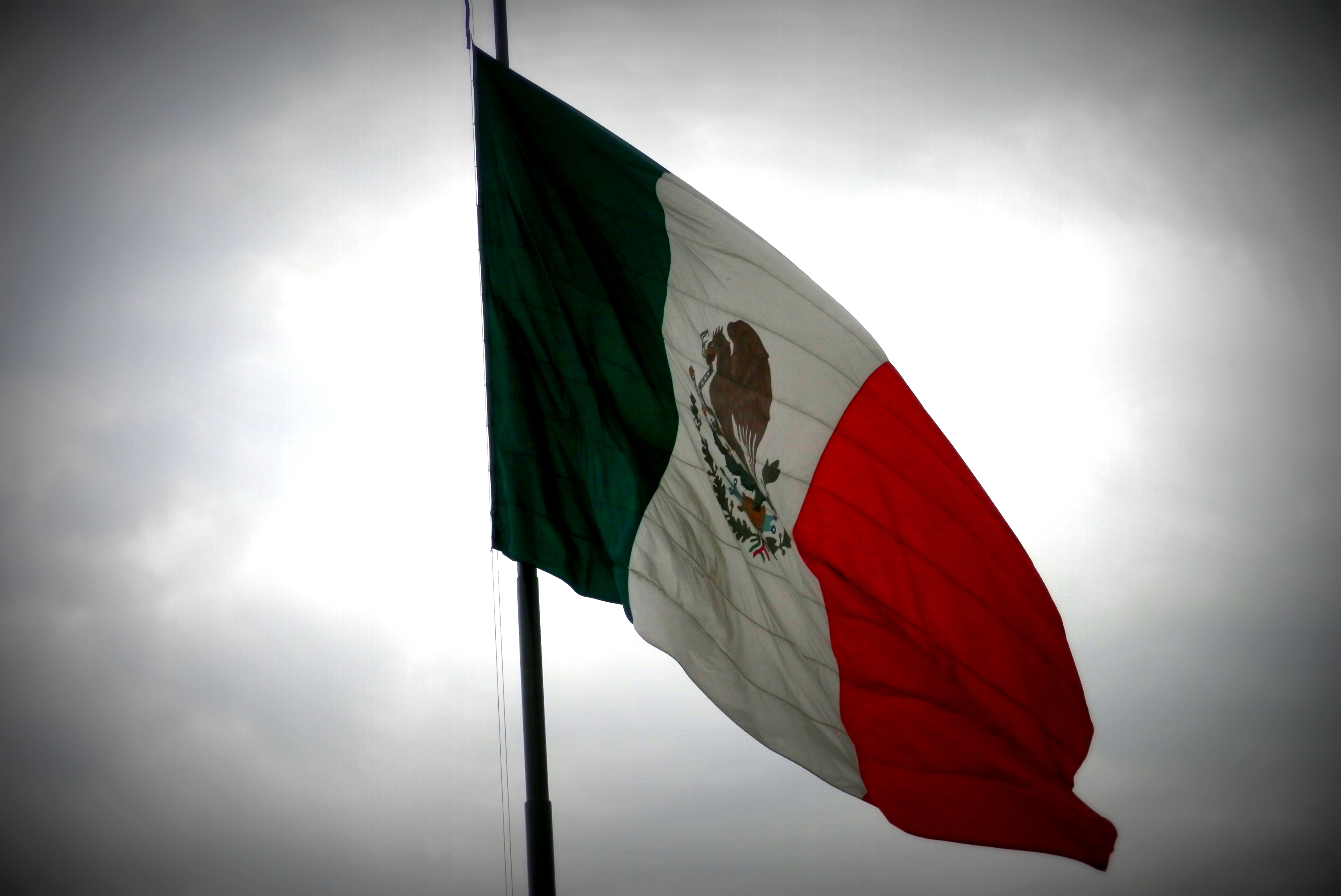 Mexican flag (downtown)