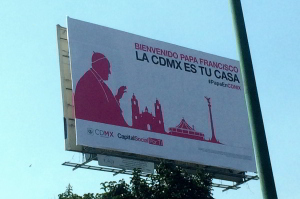 Mexico City Welcomes Pope Francis
