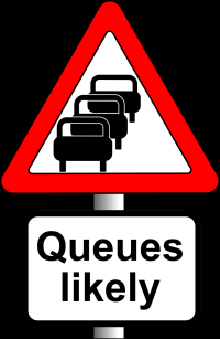 Queues likely