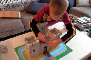 Completing the castle