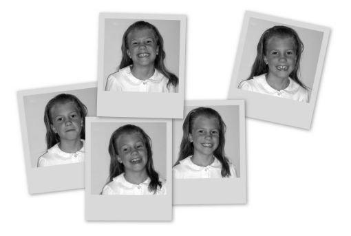Hannah school pictures August 2008