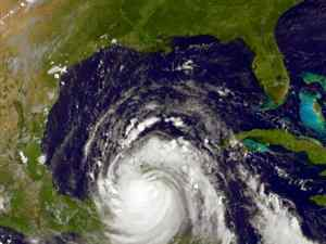 Hurrican Dean in the Yucatan