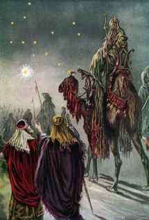 The magi and the star