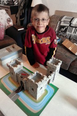 Nathanael with his castle